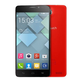 ALCATEL ONE TOUCH Idol X červená