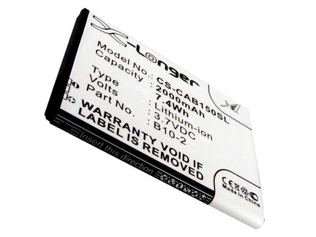 obsah balení Baterie pro Caterpillar CAT B15 2000mAh + univerzální nabíječka bateriíí