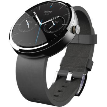 Motorola Moto 360 chytré hodinky, stříbrné