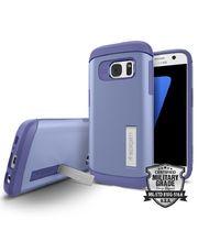 Spigen pouzdro Slim Armor pro Galaxy S7, kovově modré