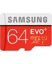 Samsung micro SDXC 64GB Class 10 UHS-I Evo+ paměťová karta + SD adaptér