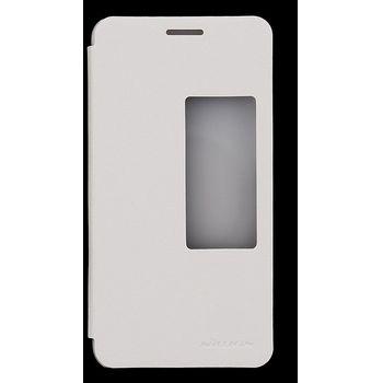 Nillkin flipové pouzdro Sparkle Folio pro Huawei Honor 6, bílé