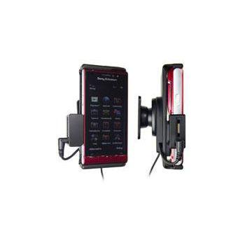 Brodit držák do auta pro Sony Ericsson Satio se skrytým nabíjením v palubní desce