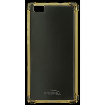 Kisswill Shock TPU pouzdro pro Huawei P8 Lite, zlatá