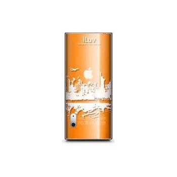 iLuv iCC306 plastový obal iPod Nano 5g čirý NewYork