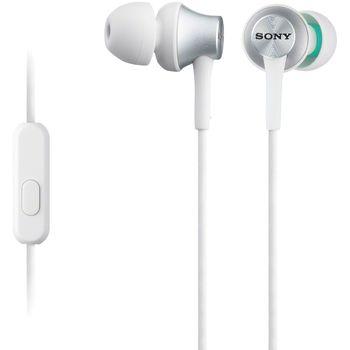SONY sluchátka MDR-EX450APW, bílá