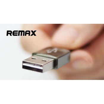 REMAX MicroUSB nabíjecí/datový kabel, oboustranné USB