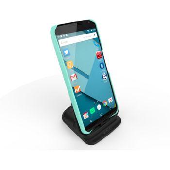 Kidigi dobíjecí a synch kolébka pro Motorola Nexus 6, černá