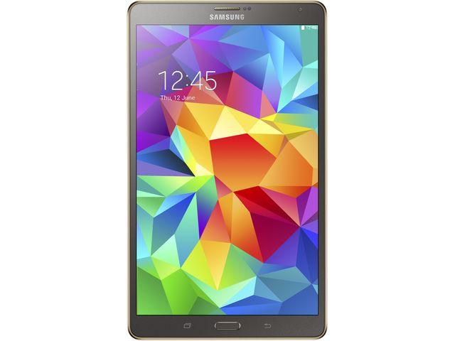 obsah balení Samsung GALAXY Tab S 8.4 T700, Wi-Fi, bronzová + Sygic Evropa offline GPS navigace