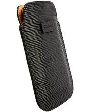 Krusell pouzdro Stockholm Pouch XXL -  HTC EVO 3D, Samsung Galaxy S II/Nexus S (černá)