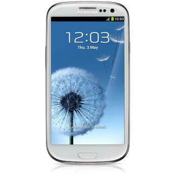 Samsung Galaxy S III bílá + fólie na displej Brando