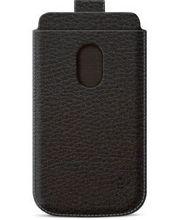 Belkin Pocket Case zasouvací pouzdro pro Samsung Galaxy S III PU kůže, černé (F8M410cwC00)