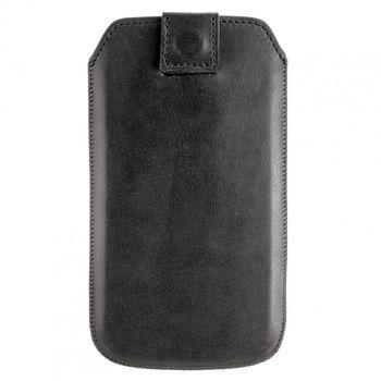 Artwizz kožené Pouch pouzdro pro Samsung Galaxy S III - lesklá černá