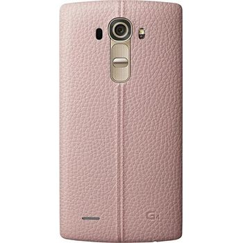 LG kožený zadní  kryt CPR-110 pro LG G4, růžový