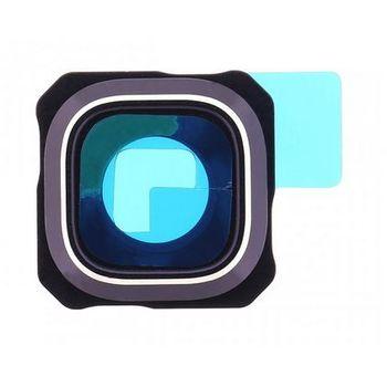 Náhradní díl na Samsung G928 Galaxy S6 Edge Plus krytka kamery modrá