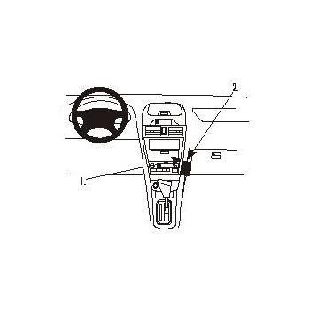 Brodit ProClip montážní konzole pro Nissan Maxima 00-04, na střed