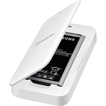 Samsung Extra Battery Kit EB-KG800BW pro Galaxy S5 mini, bílá