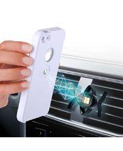 Tetrax SMART magnetický držák + XCase pro iPhone 5/5S bílá