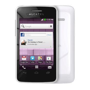 ALCATEL ONE TOUCH 4010D T'POP Dual SIM, bílá