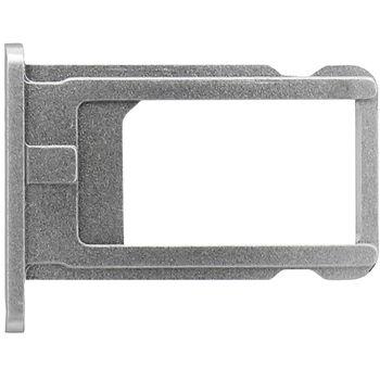 Náhradní díl držák SIM karty pro Apple iPhone 6 4.7, šedý