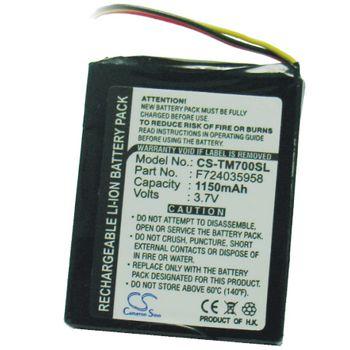Baterie pro TomTom One XL, Li-Ion 3,7V 800mAh