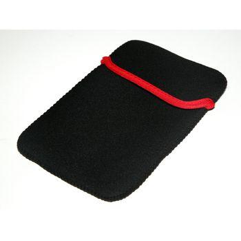 """Neoprénové ochranné pouzdro pro LCD tablet 7"""" - černo-červené"""
