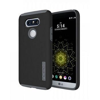 Incipio ochranný kryt Dual Case pro LG G5, šedý/černý