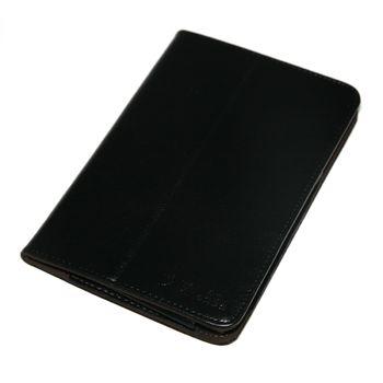 """Pouzdro se stojanem pro 7"""" tablet AURORA, CRYSTAL, ELF, MARS - černé"""