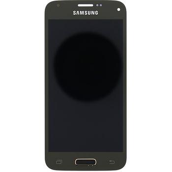 Náhradní díl LCD displej s dotykovou vrstvou pro Samsung G800 Galaxy S5 Mini, zlatá