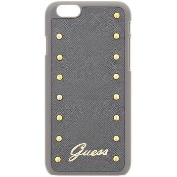 Guess zadní kryt Studded pro Apple iPhone 6 Plus, stříbrná