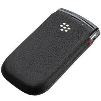 BlackBerry pouzdro kožené pro BlackBerry 9800/9810, černá