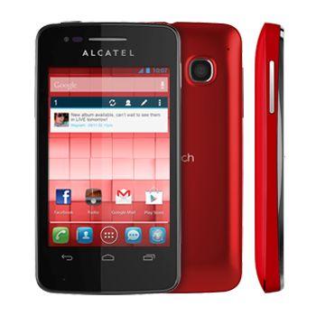 ALCATEL ONETOUCH 4030D S´POP Dual SIM červená