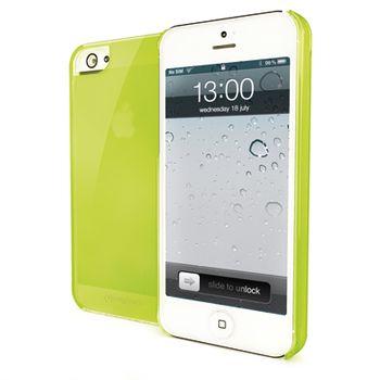 Pouzdro silikonové CELLY Gelskin pro Apple iPhone 5, zelené