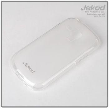 Jekod TPU silikonový kryt i8190 Galaxy S3 mini, bílá