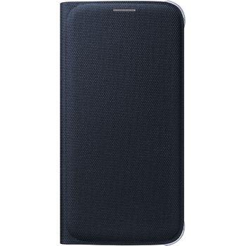 Samsung flipové pouzdro s kapsou EF-WG920BB pro Galaxy S6, textilní, černá