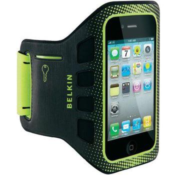 Belkin sportovní pouzdro EaseFit Sport pro Apple iPhone 4/4S na ruku, černé (F8Z894cwC00)