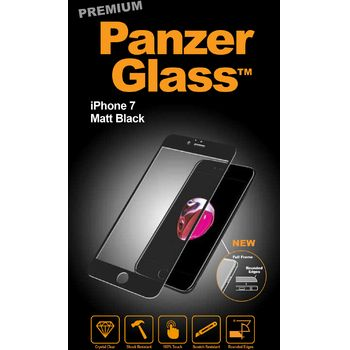 PanzerGlass ochranné premium sklo pro Apple iPhone 7, černá