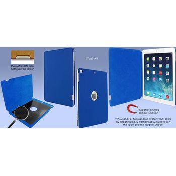 Piel Frama pouzdro pro iPad Air FramaSlim, Dark Blue, kvalitní kůže, ruční výroba, španělská manufa.
