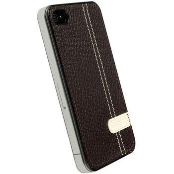 Krusell hard case - Gaia Undercover - Apple iPhone 4/iPhone 4S (hnědá)