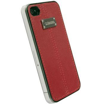 Krusell hard case - Luna Undercover - Apple iPhone 4/iPhone 4S (červená)
