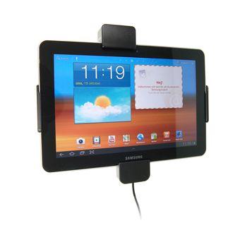 Brodit držák do auta na Samsung Galaxy Tab 10,1 GT-P7500, se zámkem s nabíjením z cig. zapalovače