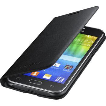 Samsung flipové pouzdro EF-FJ100BB pro Galaxy J1, černá