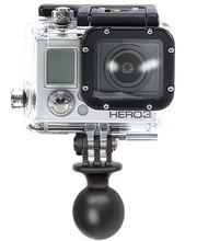 """RAM Mounts adaptér na outdoorové kamery GoPro Hero s 1"""" kulovým čepem, RAP-B-202U-GOP1"""