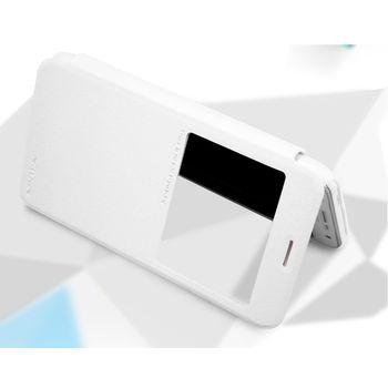 Nillkin Sparkle S-View Pouzdro pro Samsung J700 Galaxy J7, bílý