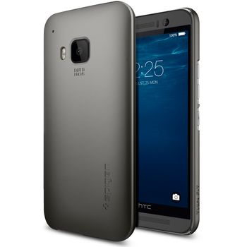 Spigen pouzdro Thin Fit pro HTC One M9, šedá
