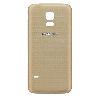 Náhradní díl kryt baterie pro Samsung G800 Galaxy S5 Mini, zlatá