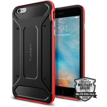 Spigen pouzdro Neo Hybrid Carbon pro iPhone 6+/6s+, červené