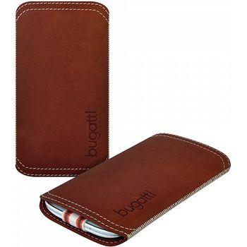 Bugatti TwoWay leather case Samsung Galaxy S III (i9300) - hnědá