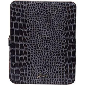 Guess Croco Zipper pouzdro iPad 2/3/4, šedé