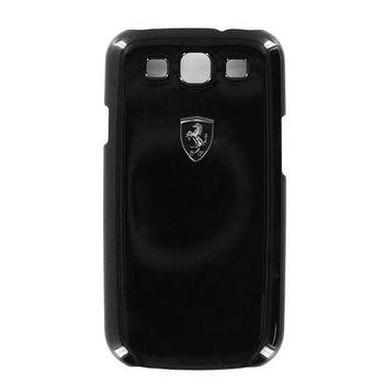 Ferrari Scuderia Metalic kryt Galaxy S III, černý